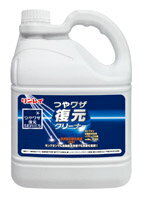 リンレイ つやワザ復元クリーナー 4L×3本【業務用 洗剤 光沢復元剤】