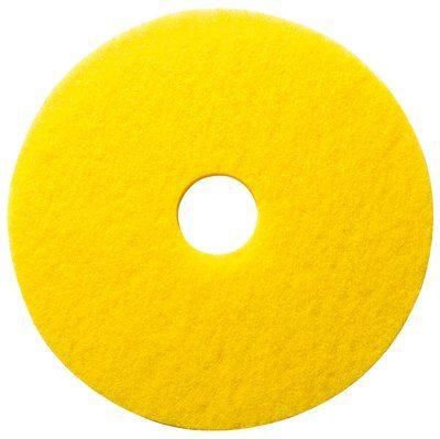 住友3M フロアパッド 16インチ 黄 5枚 イエローオートスクラバーパッド【業務用 ポリッシャー用パッド 16inch】