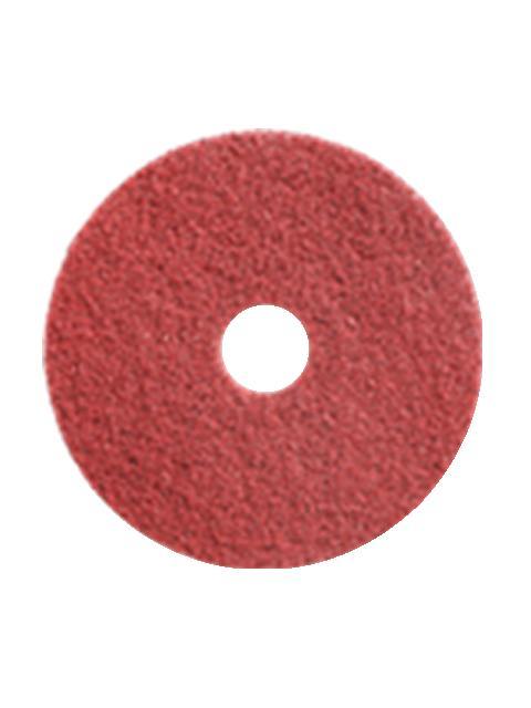 C×S シーバイエス TASKI ツイスターレッドパッド 17インチ(2枚)【業務用 化学床・石床の強研削用パッド】