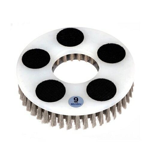 クオリティ Q-PLATINUM α-9 ベルクロ仕様 プラチナムアルファ ステンレスブラシ 9インチ