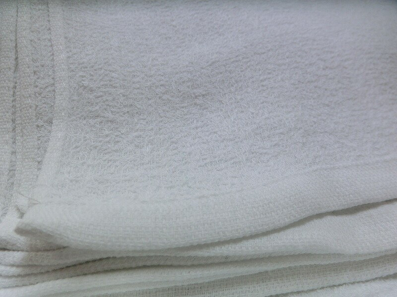 タオル 白 200匁 爆売り 62.5g デポー 1枚 総パイル織り お徳用タオル 業務用