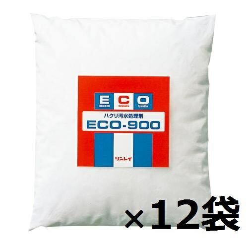 リンレイ ECO-900(780g×12袋)【業務用 剥離汚水処理剤】