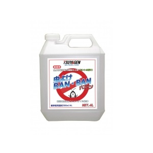 つやげん 虫よけBAN・BAN 4L×4本 虫よけ成分配合樹脂ワックス