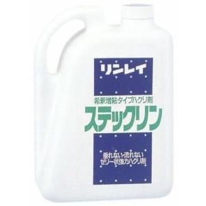 リンレイ チープ ゼリー状強力ハクリ剤 期間限定で特別価格 4L ステックリン