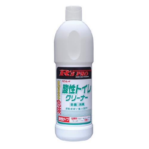 リンレイ R'S PRO 酸性トイレクリーナー ギフ_包装 国内正規品 800ml×12本 787433