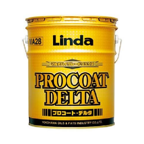 横浜油脂工業 樹脂ワックス 18L 新作 ※ラッピング ※ 大人気 プロコートデルタ