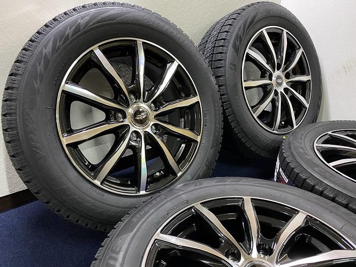 激安 送料無料 即日発送 あす楽 新品 スタッドレス 新色追加して再販 205 60R16 ブリヂストン BLIZZAK ブリザック VRX2 タイヤセット TEAD エスクァイア ヴォクシー 16 市販 NOAH ノア 60 VOXY ホイール ステップワゴン