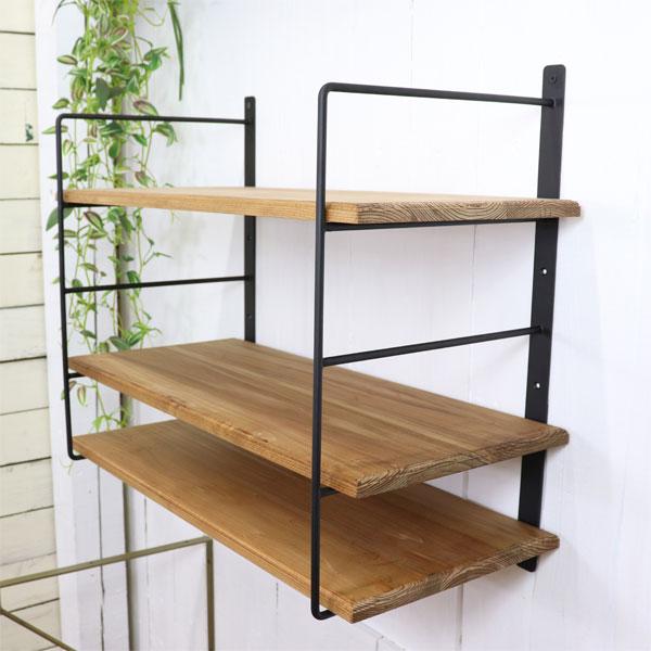 Four steps of natural iron bracket shelf bracket antique style racks  stylish DIY kitchen shelf 26cm correspondence