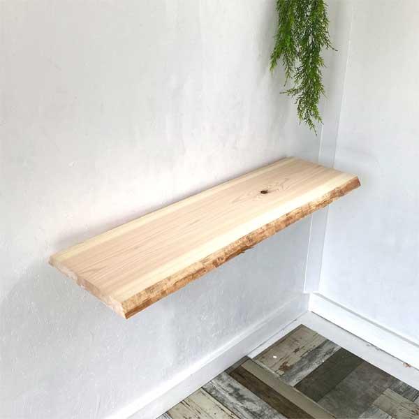 素材を活かした板 DIYで無垢板を楽しくアレンジ cl0035 kor 送料無料 一枚板 無垢 ひのき 檜 25%OFF 桧 無垢板 在庫一掃 天板 棚板 ヒノキ カウンター 机 シェルフボード 板 棚 ウッドボード