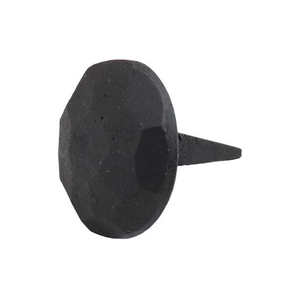 マットな雰囲気がお洒落です 飾り釘 ブラック 直径2.5cm 格安 真鍮 黒 nail 円形 丸 ap025bk 金物 du4 国際ブランド デコレーション