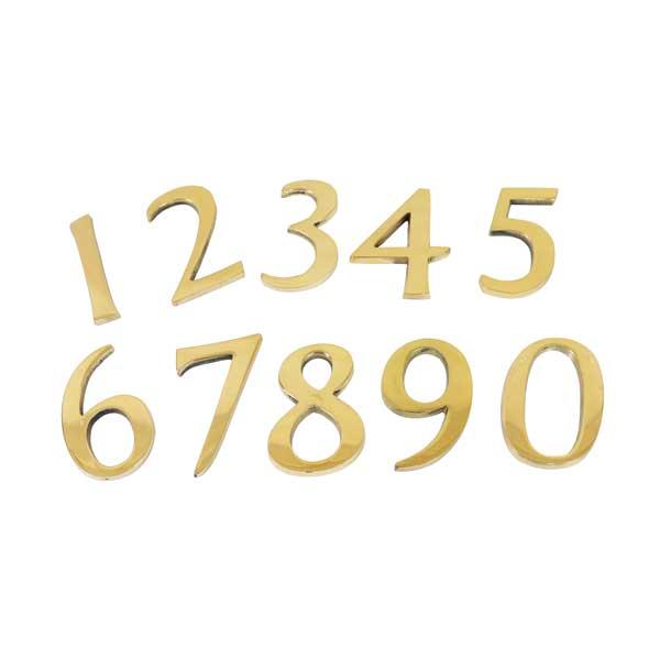 45mmの程よい大きいサイズ【真鍮ナンバーゴールド45mm DIY レター 数字 ナンバー 真鍮レター 数字 番号 お店 看板 表札 1234567890【bl0455nu】【du4】 《あす楽》15時迄出荷OK 真鍮 ナンバー ゴールド 45mm 1 2 3 4 5 6 7 8 9 0 看板 表札 ネームプレート ツリーハウス ネコポス メール便