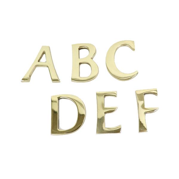 オリジナルの看板作りにチャレンジ 真鍮レターゴールド 45mm 大文字 ABCDEF 看板 表札 ゴールドカラー アルファベット duve bl0455caaf 《あす楽》 15時迄出荷OK B 高級な ツリーハウス C ストア A D ネコポス E メール便 ネームプレート レター 真鍮 ナンバー F