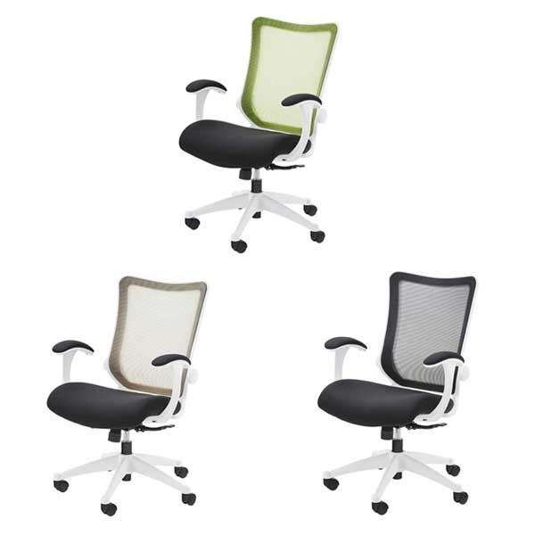 椅子 オフィスチェア 送料無料 オフィス 椅子 おしゃれ かっこいい カラー3色 ブラック グリーン ベージュ