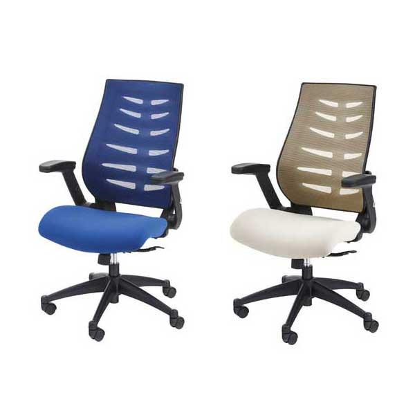 椅子 オフィスチェア 2色