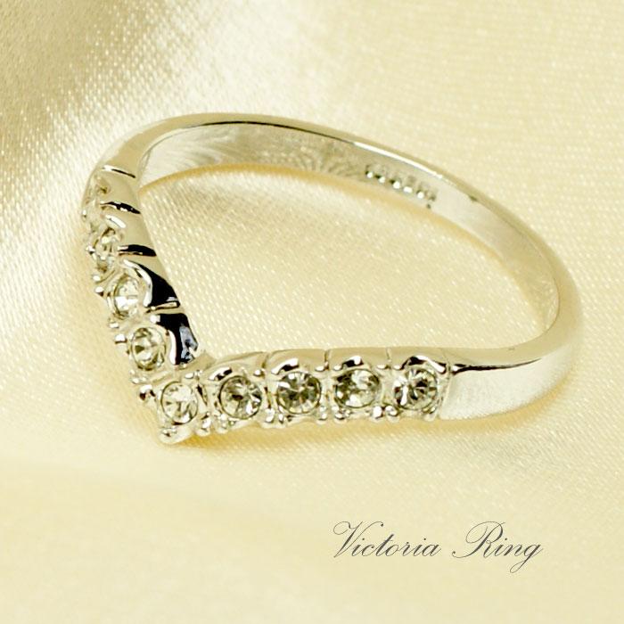 指輪 /リング ヴィクトリア ギフト リング  女性 誕生日プレゼント 女友達 ギフト リング 結婚記念日 リング  ギフト【秀】