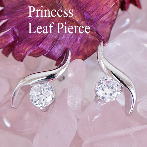 Princess leaf earrings birthday wedding anniversary gifts Christmas gifts