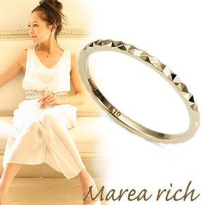 【送料無料】 マレア リッチ Marea rich K10 ピンキーリング ゴールド 3号 11KJ-34
