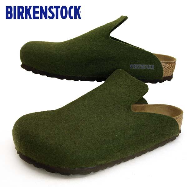 ビルケンシュトック BIRKENSTOCK Classic Davos 1011222 ダボス オリーブ フエルト ウール レディース/メンズ