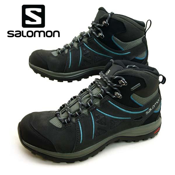 サロモン SALOMON ELLIPSE 2 MID LTR GTX W 394735 ゴアテックス 防水/透湿 ハイキング 登山靴 レディース