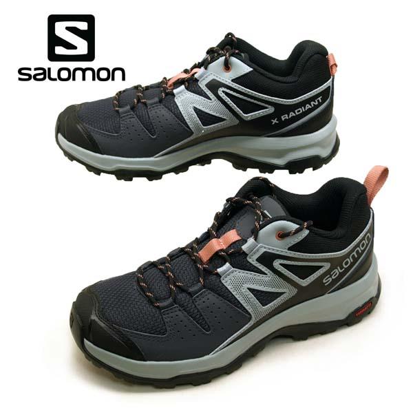 サロモン SALOMON X RADIANT W 406760 軽量 ハイキングシューズ レディース