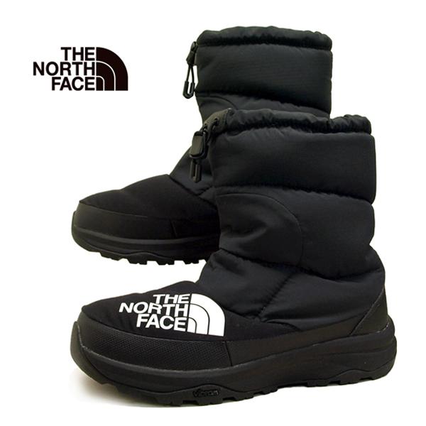 ノースフェイス THE NORTH FACE Nuptse Down Bootie 51877 KK ヌプシ ブーティー ダウン 黒 レディース/メンズ