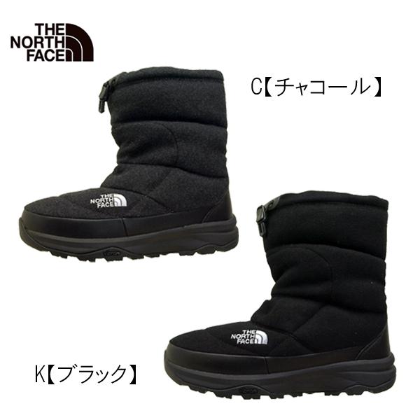 ノースフェイス THE NORTH FACE Nuptse Bootie Wool V NF51978 ヌプシ ブーティー 撥水加工 ウール V メンズ