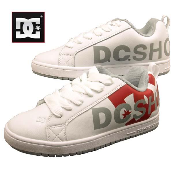 ディーシーシューズ DC Shoes COURT GRAFFIK SE 196027 WR6 コートグラフィック 白赤 スニーカー メンズ