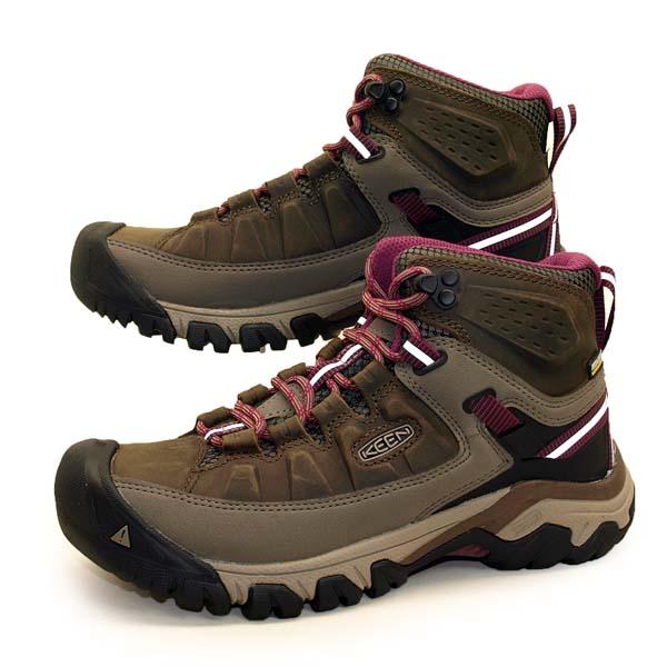 キーン KEEN TARGHEE III MID WP 1018178 ターギー 3 ミッド ウォータープルーフ 濃茶 ハイキング トレッキング 防水 登山靴 レディース