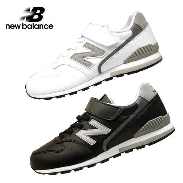 ニューバランス new balance YV9960 LBK LWH マジックベルト 合皮 0996 キッズ/レディース