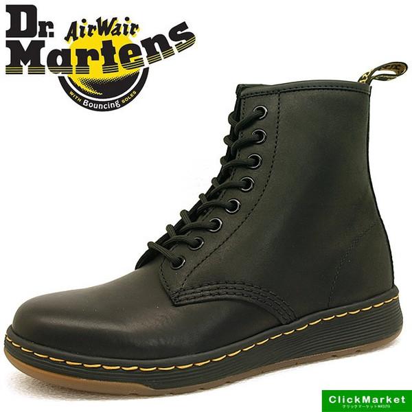 ドクターマーチン Dr.Martens 21856001 NEWTON 黒 ニュートン 8ホール 軽量ソール メンズ