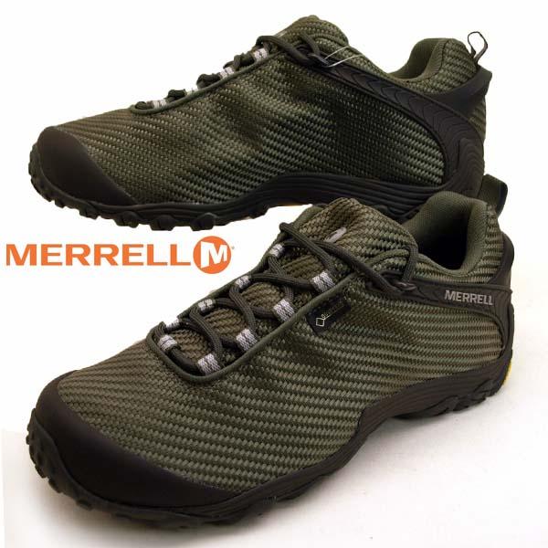 メレル MERRELL CHAMELEON 7 STORM GORE-TEX 31133 カメレオン 7 ストーム ゴアテックス 防水 オリーブ メンズ