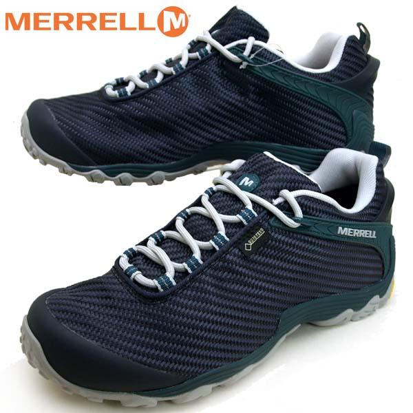メレル MERRELL CHAMELEON 7 STORM GORE-TEX 36477 カメレオン 7 ストーム ゴアテックス 防水 紺 メンズ