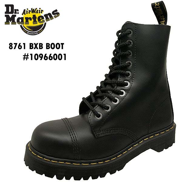 ドクターマーチン Dr.Martens 8761 BXB BOOT 10966001 黒 10ホール ブーツ メンズ