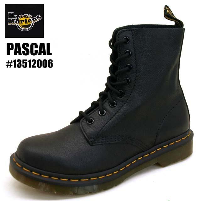 ドクターマーチン Dr.Martens PASCAL 13512006 パスカル 8ホール ブーツ ブラック メンズ/レディース