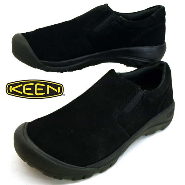 キーン KEEN AUSTIN CASUAL SLIP SD オースティン カジュアル スリップ エスディー 1019608 黒 メンズ