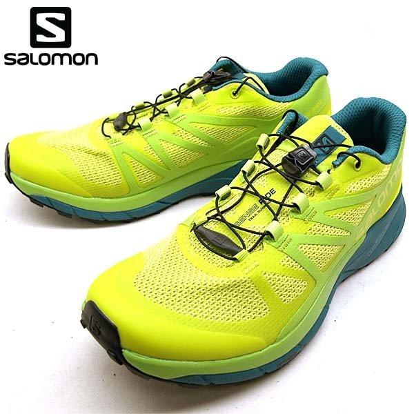 サロモン SALOMON SENSE RIDE 402501 黄緑 トレイル ランニング メンズ