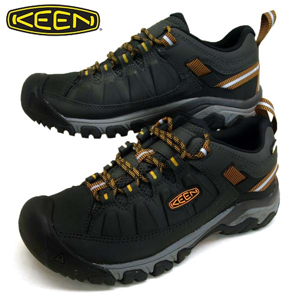 キーン KEEN TARGHEE EXP WP 1018551 ターギー イーエックスピー ウォータープルーフ 濃灰 ハイキング トレッキング 防水 登山靴 メンズ