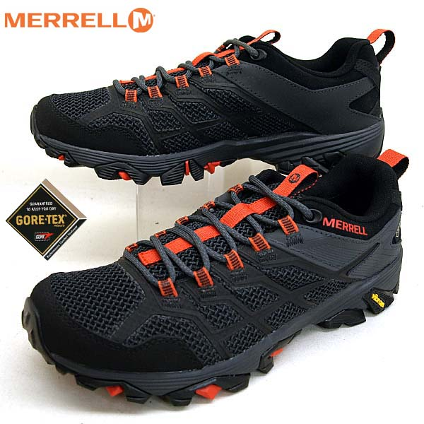 メレル MERRELL MOAB FST 2 GTX J77443 モアブ FST ゴアテックス 黒 防水トレッキング メンズ