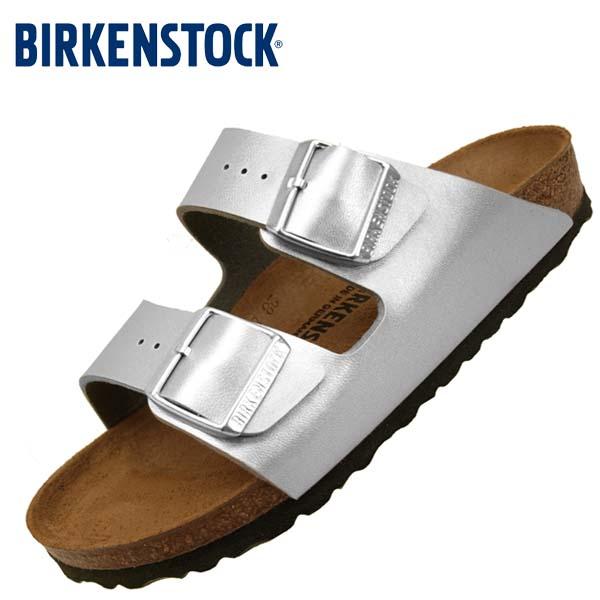ビルケンシュトック BIRKENSTOCK Classic Arizona BS 1012283 アリゾナ 銀 サンダル レディース