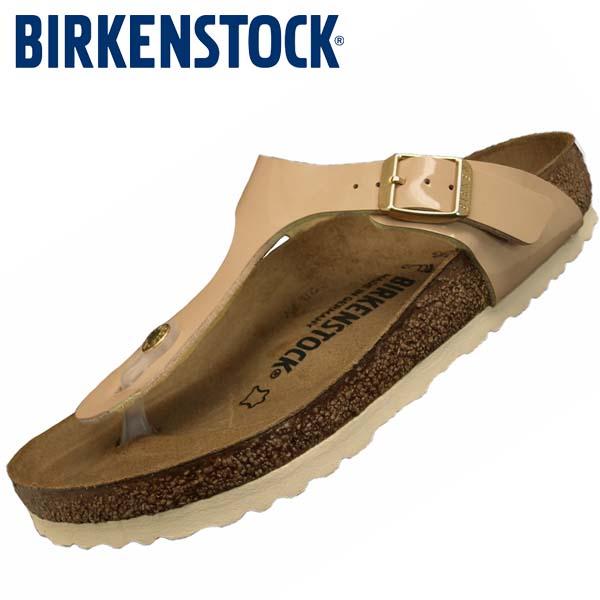 ビルケンシュトック BIRKENSTOCK Classic GIZEH Birko-Flor Patent 1013075 ギゼ ビルコフロー パテント サンド サンダル レディース