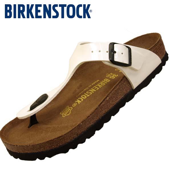 ビルケンシュトック BIRKENSTOCK Classic GIZEH 543761 ギゼ 白 トング サンダル レディース