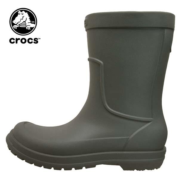 クロックス crocs allcast rain boot オールキャスト レイン ブーツ 204862-3m9 レインブーツ 長靴 メンズ