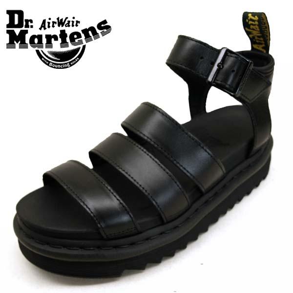 ドクターマーチン Dr.Martens BLAIRE 24191001 ブレアー 黒 サンダル レディース
