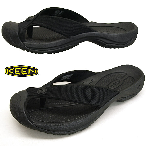 キーン KEEN WAIMEA H2 ワイメア エイチツー 1021157 TRIPLE BLACK/BLACK 黒 トング ビーチサンダル メンズ