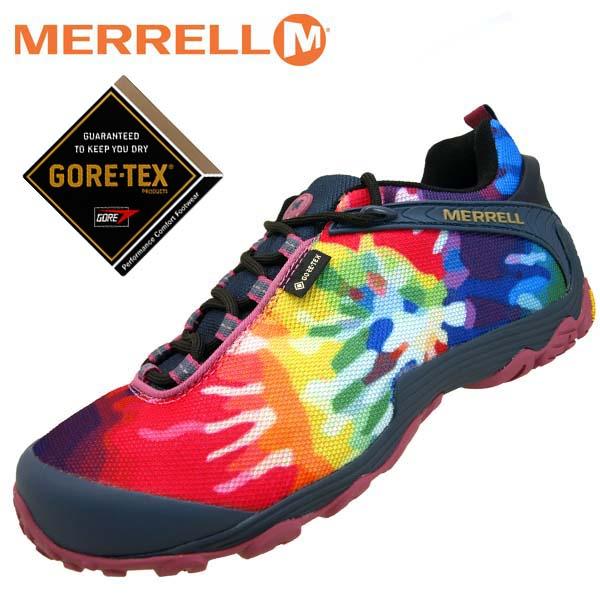 メレル MERRELL CHAMELEON7 STORM GORE-TEX PRINT GTX 599645 カメレオン 7 ストーム ゴアテックス プリント 防水 メンズ