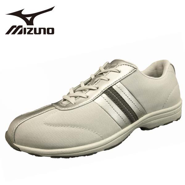 ミズノ MIZUNO LS501 B1GF163103 シルバー ウォーキング カジュアルシューズ レディース