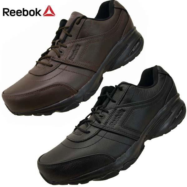 リーボック Reebok RAINWALKER DASH DMXMAX 4E 48149 48150 本革 レインウォーク ダッシュ ウォーキングシューズ スニーカー メンズ