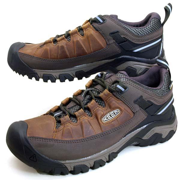 キーン KEEN TARGHEE III WP 1023027 ターギー 3 ウォータープルーフ ハイキングシューズ 防水/透湿 登山靴 メンズ/ミンクオイルプレゼント!