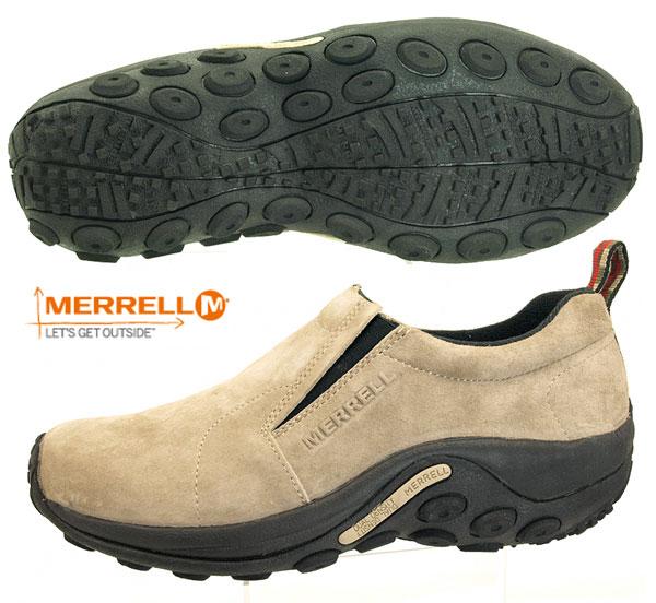 メレル MERRELL ジャングルモック トープ スエード スリッポンシューズ 60801 メンズ