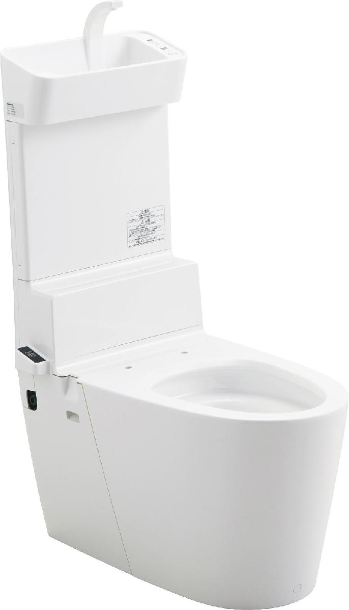 PANASONIC XCH301WST ホアラウーノV手洗い付 ワイト 床排水芯120/200mm  *便座は、別途必要です。北海道、沖縄及び離島は、別途送料がかかります